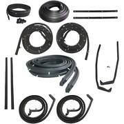 1957 Buick Roadmaster And Super 4dr Hardtop Body Weatherstrip Seal Kit