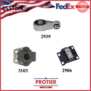 Oem Quality Engine Motor And Trans. Mount Set For 2005-2007 Ford Focus 2.0l