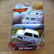 Disney Planes 2 Fire And Rescue Cad Spinner Diecast Piston Peak National Park Supt