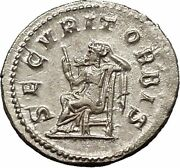 Philip I 'the Arab' 245ad Rome Mint Silver Ancient Roman Coin Security I52054