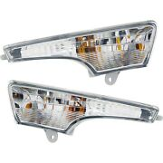 Turn Signal Light For 2013-2016 Nissan Altima Plastic Lens Left And Right Set Of 2