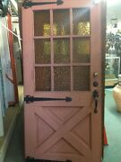 Front Door 1940 Spanish Ranch Style With Hardware Old Farmhouse Style 35 Halfx78