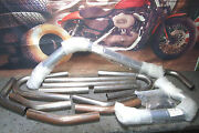 Pipes Exhaust Paughco Build Your Own Pipes 14 Piece Fits Harley Evo Trike X1