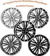 22 Hawke Harrier Alloy Wheels Only Brand New 5x120 Rims Land Rover Range Rover