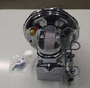 Camaro And Chevelle Gto 11 Chrome Brake Booster And Master Cylinder New Pv4c