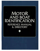 Manual Motor And Boat Reference Til 1996 By Clymer