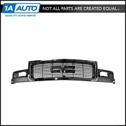 Grille Front Gray And Chrome For 95-05 Gmc Safari Van