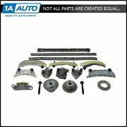 Engine Timing Chain Tensioner Idler Guide Rail Kit Set For Lacrosse Cts Srx 3.6l