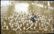 Hot Springs Sd1914 Evans Plungepoolbathers Posing For Photographer Rppc