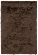 8x11' Chandra Rug Celecot Hand-woven Contemporary Shag Wool And Polyester Cel470