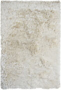 8and039 Round Chandra Rug Celecot Hand-woven Contemporary Shag Wool And Polyester Cel