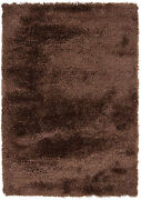 8x11and039 Chandra Rug Mercury Hand-woven Contemporary Polyester Mer6902-79106