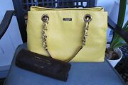 Classy Nwt Authentic Kate Spade Purse - Victoria Falls Maryanne Goldenrod - 528