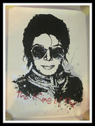 Mr Brainwash Michael Jackson King Of Pop S/n Screen Print Mbw Sold Out And Rare