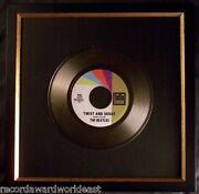 The Beatles Twist And And Shout Gold Non Riaa Record Award Tollie Records
