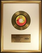 The Beatles We Can Work It Out 45 Gold Non Riaa Record Award Capitol Records