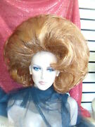 Sin City Wigs Short Volume Straight Soft Waves Teased Back Big Hair Great Shape