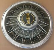 Vintage Chrome Wire-spoke Wheel Covers1978-1982 Lincoln Town Car, Mark 15