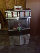 1953 Ami E80 Jukebox Finish Brown Cabinet Plays 45s