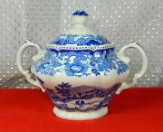 Spode Jane Seymour Pat S3756-a3 St. Catherines Court Sugar And Creamer