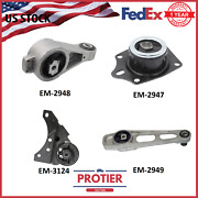 Fits Dodge Neon 2000 - 2005 2.0l Automatic Transmission And Engine Motor Mount Set