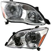 Headlight Set For 2005 2006 2007 Toyota Avalon Left And Right With Bulb 2pc