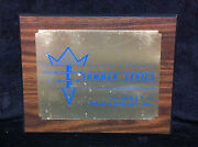 Rare 1984 Elf Summer Series 1st Place Wall Plaque Old School Bmx Trophy First