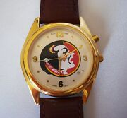 Vintage Sun Time Musical Fight Song Watch