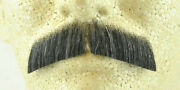Dark Grey 100 Human Hair Hippie Bandit 70s Basic Character Mustache 2015