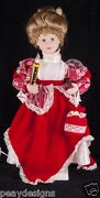 Telco Victorian Lady Girl 26 Motionette Animated Christmas Display