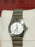 Authentic Omega My Choice Constallation Stainless Steel Swiss-quartz Watch
