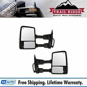 Trail Ridge Towing Mirror Power Heated Memory Signal Textured And Chrome For Ford