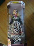 New In Box Barbie Collector Edition Austrian Barbie