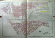 1918 West Philadelphia Fairmount Park To Master St And N. 49th To N54th Atlas Map