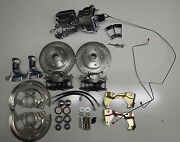 1968 1972 Chevelle Power Front And Rear Disc Brake Conversion Chrome 8 Booster