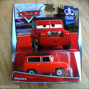Disney Pixar Cars Maurice Diecast New 2015 Palace Chaos Theme 1/7 Red Landrover
