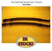Chassis Engineering Rs-4148lr - Rear Slider 5 Leaf Low Rider Springs