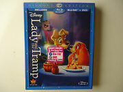 Lady And The Tramp Blu-ray/dvd, 2012, 2-disc, Diamond Edition New W/slipcover