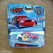 Disney Pixar Cars Ice Racers Vitaly Petrov Diecast Special Icy Edition Russian