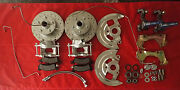 1964 1967 Gm A Body Chevelle Front Disc Brake Conversion Stock Height Ss Hoses