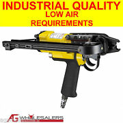 Pneumatic 24mm C24 Hog Ring C Clip Gun Low Air Requirements- Fence Ringer Pliers