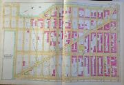 Orig 1891 E. Robinson Morningside Heights Manhattan Ny West 108th To W125th St