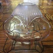 Rare And Hard To Find Vintage Lalique Come Vase Brand New In Box
