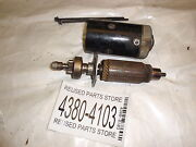 1973 Chrysler 70hp 707hf Outboard Motor Starter For Parts Or Repair