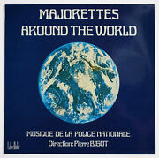 Police Nationale Majorettes Around The World French Libellule L3004 Vinyl Lp