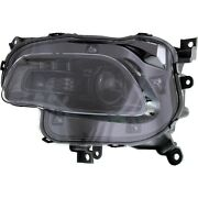 Headlight For 2014-2017 Jeep Cherokee Left Black Trim With Bulb