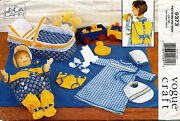 Vogue Baby Doll Accessories By Linda Carr Pattern 9373 Size 15