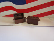 Lego 2 Old Brown Treasure Chests Harry Potter, Pirate's Or Anything You Need