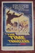 1964 The Time Travelers 1-sh Movie Poster Vg Preston Foster, Philip Carey