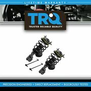 Trq Front Suspensionset Of 4 Strut And Spring Assemblies And Sway Bar Links For Gm